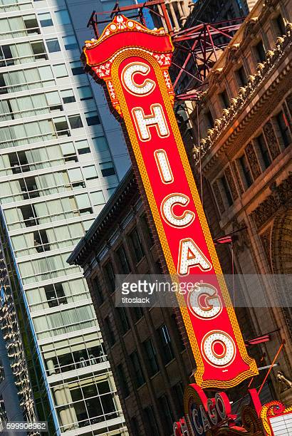 Chicago Theatre Marquee Sign