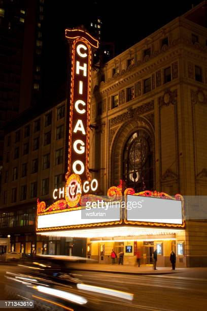 chicago theatre - chicago theater stock pictures, royalty-free photos & images