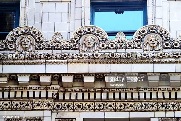 Chicago Theatre terracotta detail