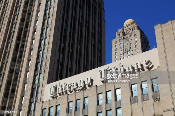 chicago tribune - rainer grosskopf stock pictures, royalty-free photos & images