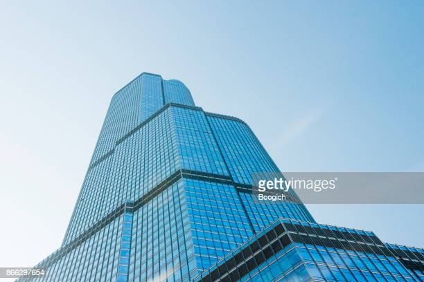 Chicago Trump International Hotel & Tower Architecture USA