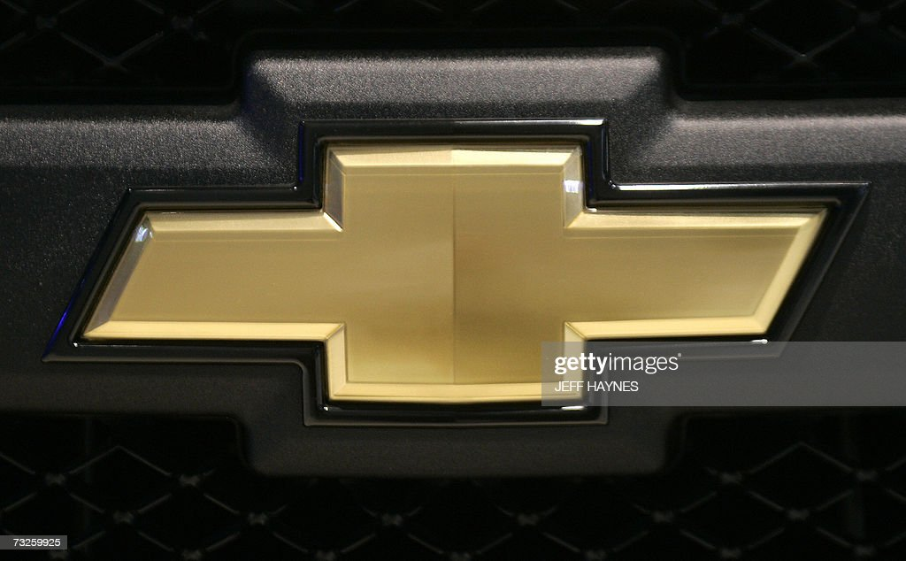 The Chevrolet Emblem On The Grill Of A New Chevy Truck 08 February