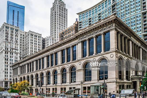 Urban Skyline von Chicago an der Michigan Avenue