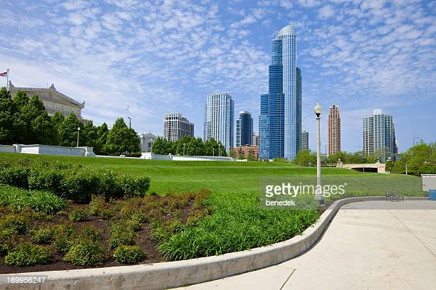 Chicago USA Lakefront Trail Grant Park
