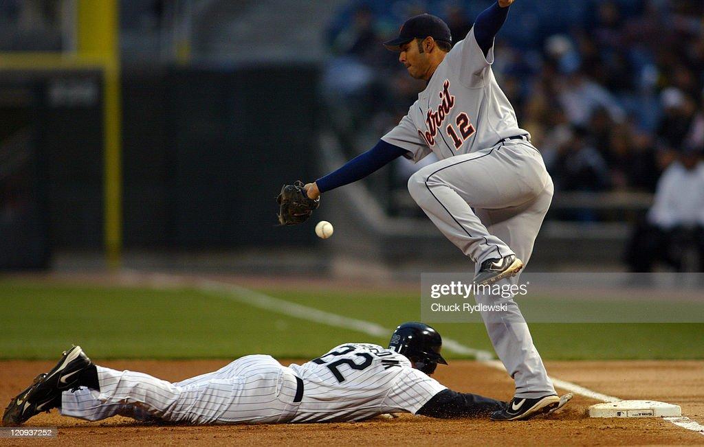 Detroit Tigers vs Chicago White Sox - April 29, 2005