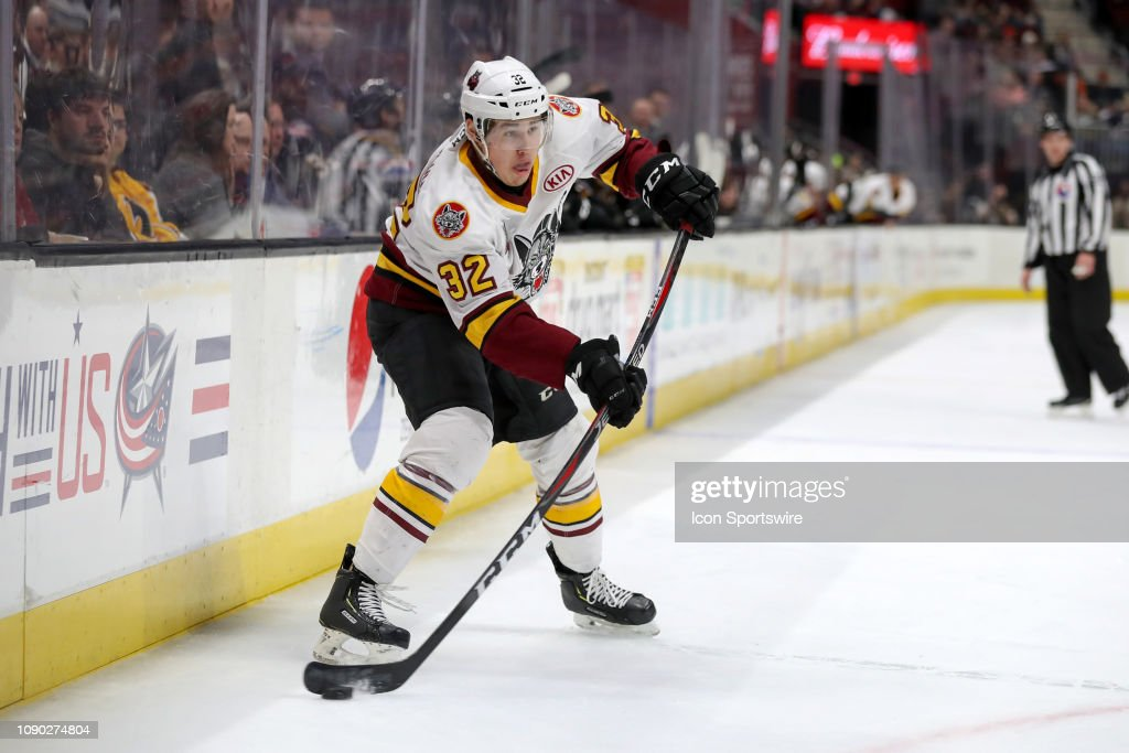 AHL: JAN 26 Chicago Wolves at Cleveland Monsters : News Photo