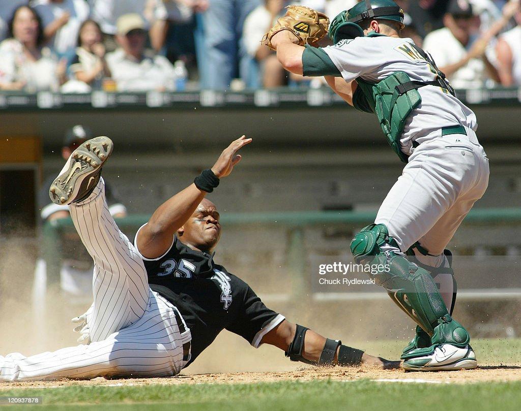 Oakland Athletics vs Chicago White Sox - July 10, 2005