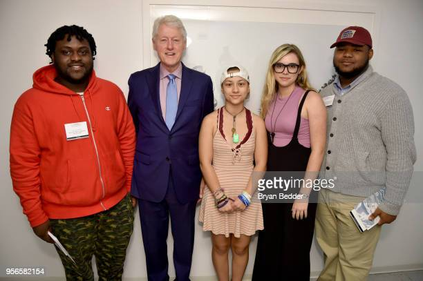 Chicago's North Lawndale College Prep Student Alex King Former President of the United States Bill Clinton Marjory Stoneman Douglas High School...