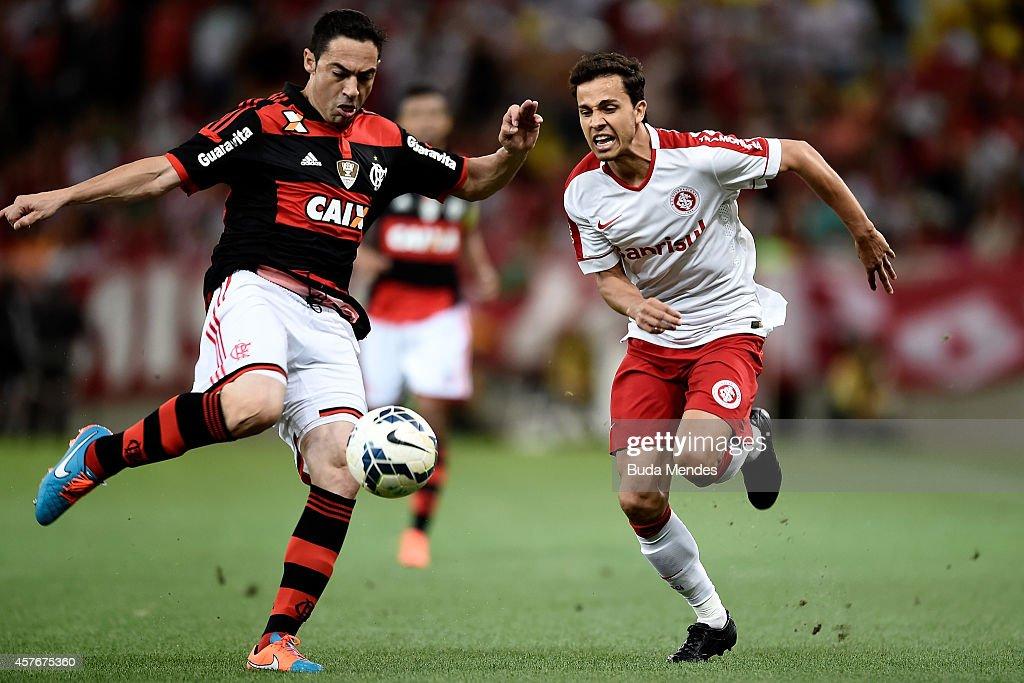 Flamengo v Internacional - Brasileirao Series A 2014