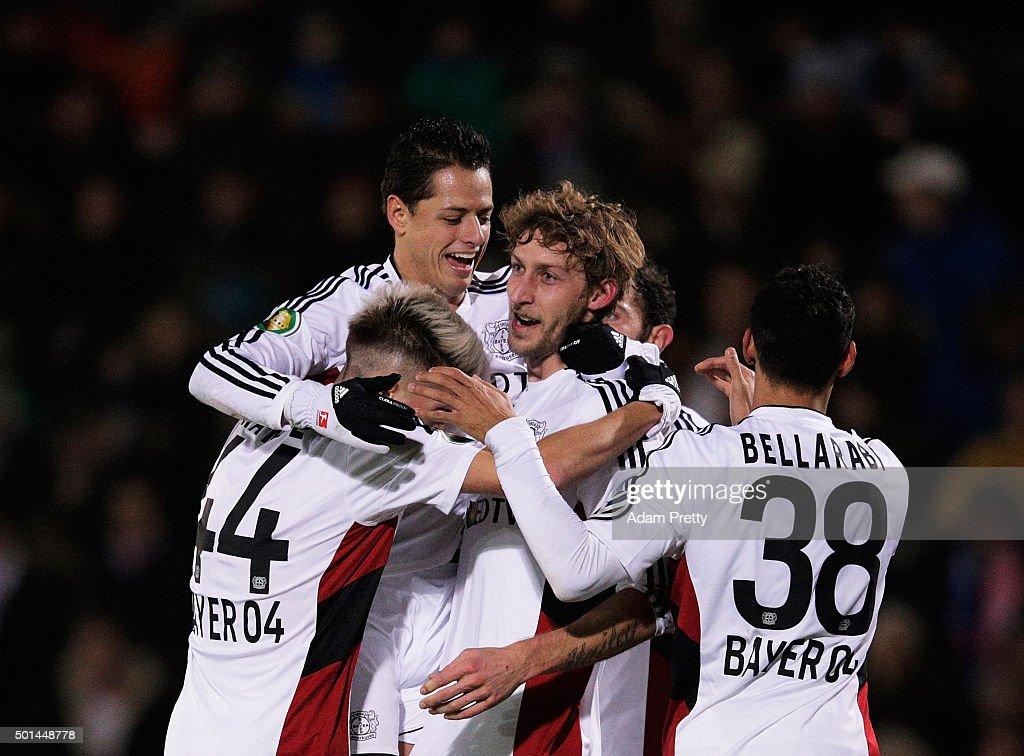 SpVgg Unterhaching v Bayer Leverkusen - DFB Cup