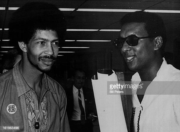 8/20/1968 Chich Neblett Black Panther Field Marshall Stokely Carmichael Black Panther Prime Minister