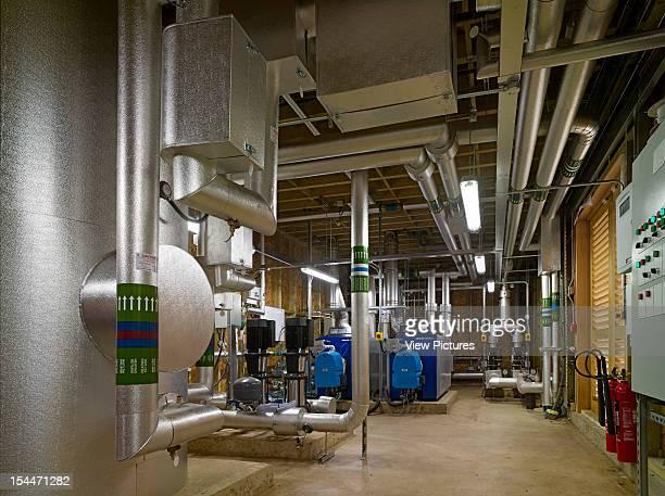 Chicheley Hall Kavli Royal Society, Burrell Foley Fischer, North Buckinghamshire, United Kingdom Interior Of Heating Plant, Burrell Foley Fischer,...