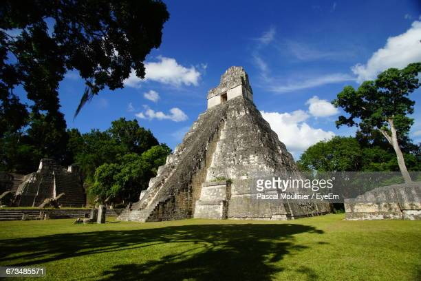 Chichen Itza Against Sky