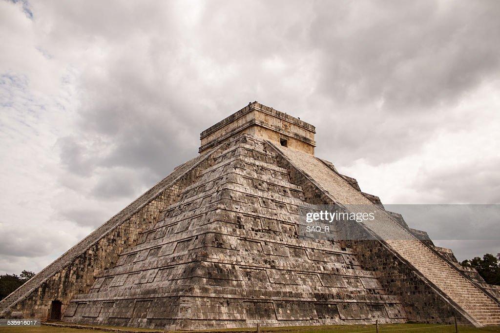 Chichen itzá de kukulkán : Foto de stock