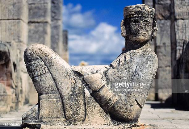 chichen itza - mexican god stock pictures, royalty-free photos & images