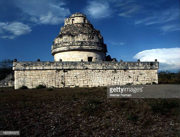Chichen Itza The Astronomical Observatory 'El Caracol' Mexico Toltec/Maya 1012th circa Yucatan