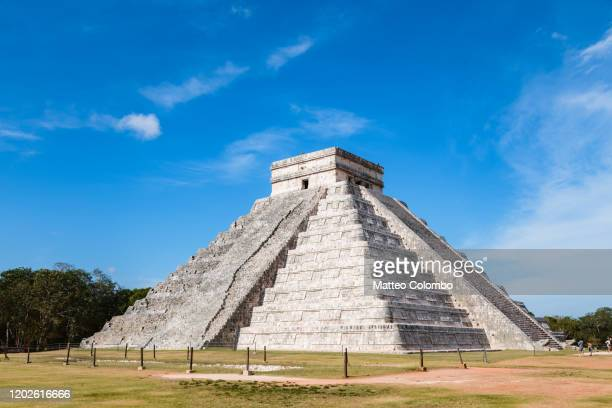 chichen itza, yucatan, mexico - quintana roo stock pictures, royalty-free photos & images