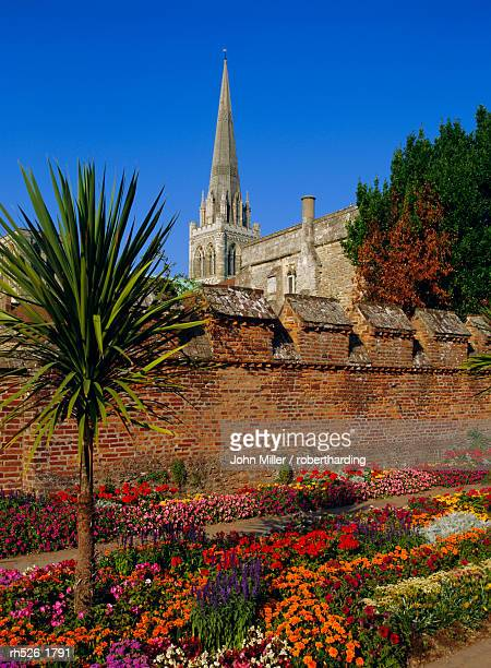 Chichester Cathedral and gardens, Chichester, West Sussex, England, UK, Europe