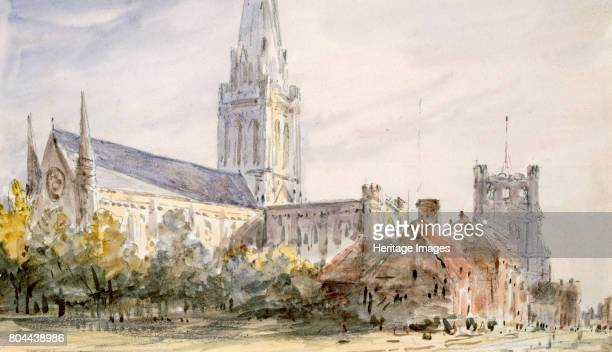 Chichester Cathedral' Sussex c17961837 Artist John Constable