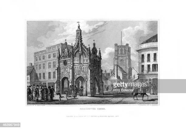 Chichester Cross, Chichester, West Sussex, 1829. According to the inscription upon it, this Cross was built by Edward Story, the bishop of Chichester...