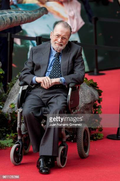 Chicho Ibanez Serrador attends the 'Jurassic World Fallen Kindom' premiere at Wizink Center on May 21 2018 in Madrid Spain
