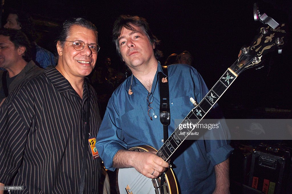 Chick Corea and Bela Fleck during 6th Annual Jammy Awards - Show and Backstage at The Theater at Madison Square Garden in New York City, New York, United States.