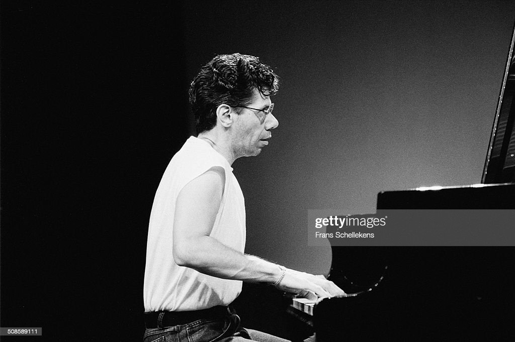 Chick Corea, piano, performs at the North Sea Jazz Festival in the Hague, Netherlands on 14th July 1991.