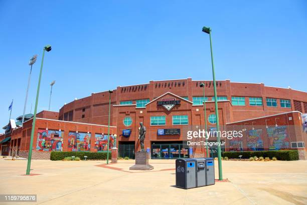 chickasaw bricktown ballpark - oklahoma city stock pictures, royalty-free photos & images