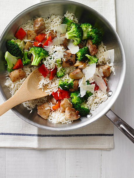 Chicken And Rice Stir Fry Wall Art