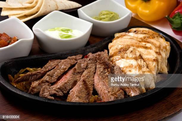 Chicken and Steak Fajita