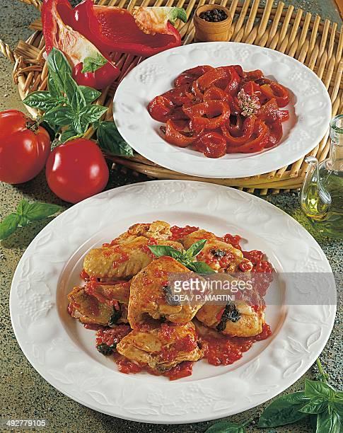 Chicken and tomato stew
