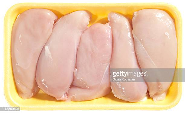 chicken breasts - chicken meat stock pictures, royalty-free photos & images