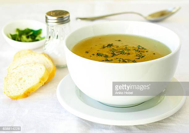 chicken broth - soup stock pictures, royalty-free photos & images