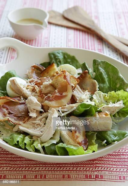 Chicken Caesar salad Recipe by Jill Dupleix