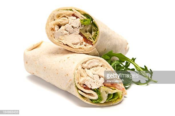 Chicken Deli Wrap