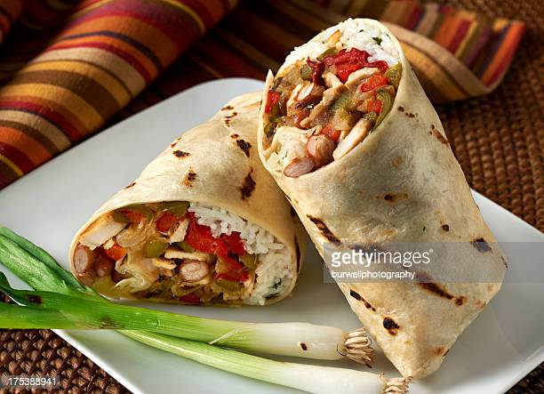 Chicken Fajita Wrap Sandwich or Burrito