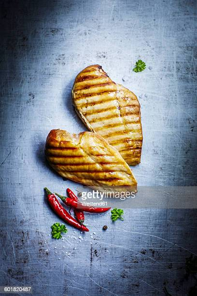 Chicken filet with chili