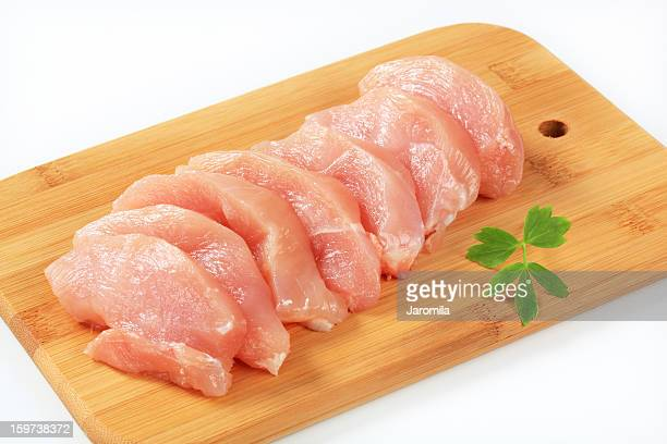 chicken fillets - raw food stock pictures, royalty-free photos & images