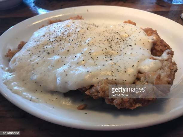 34 Country Fried Steak Photos And Premium High Res Pictures Getty Images
