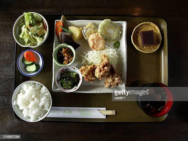 Chicken karaage lunch