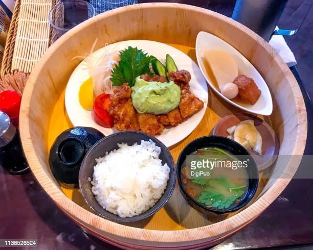 Chicken Nanban: Fried Chicken with vinegar and tartar sauce