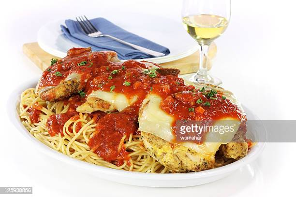 chicken parmigiana - parmesan cheese stock pictures, royalty-free photos & images