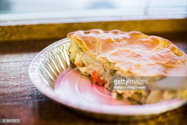 Chicken Pot Pie at The Italian Bakery in Lewiston ME on Thursday Feb 25 2016