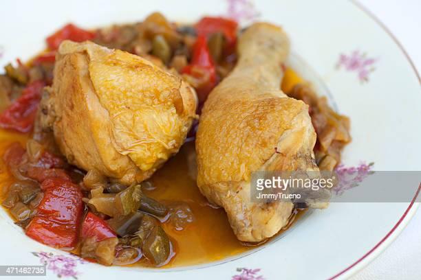 ratatouille de poulet