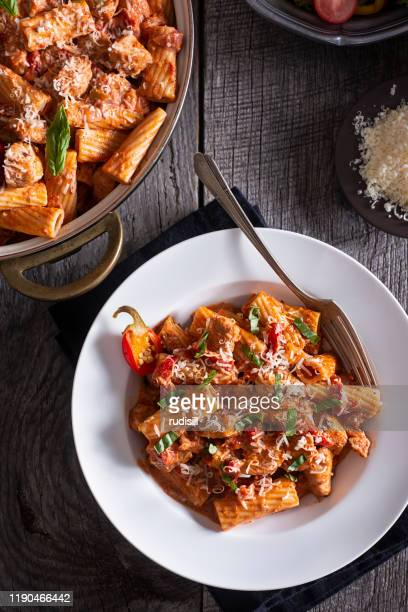 chicken riggies - savory food stock pictures, royalty-free photos & images