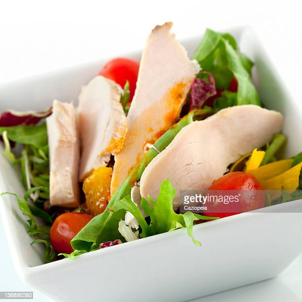 chicken salad - side salad stock pictures, royalty-free photos & images