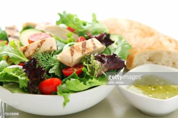 チキンのサラダ
