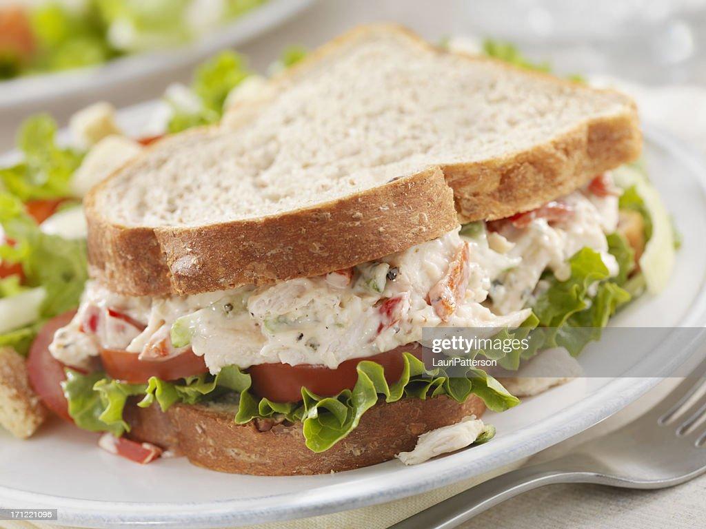 Chicken Salad Sandwich : Stock Photo