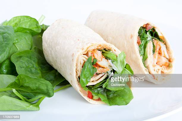 Chicken Salad Sandwich Wrap