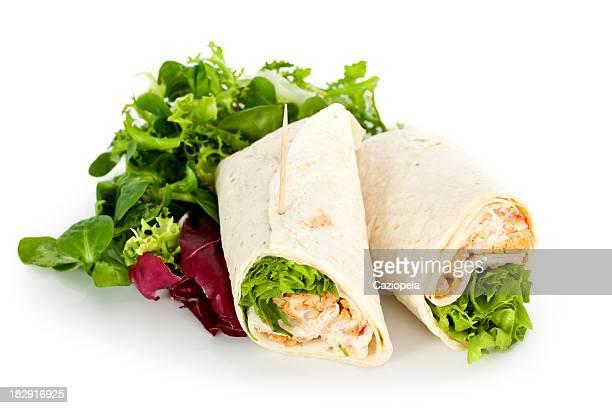 Chicken Salad Sandwich Wrap